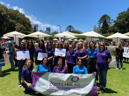 2019 Annual Silent Domestic Violence Memorial March -